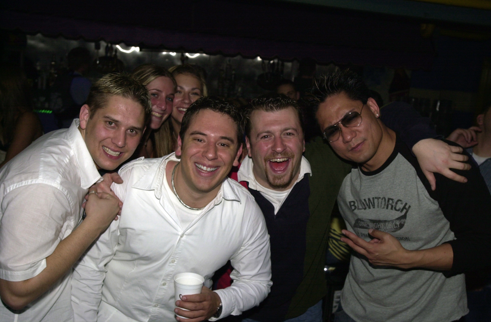 Erik, Me, DJ Mike Z, DJ Speed and college girls :)