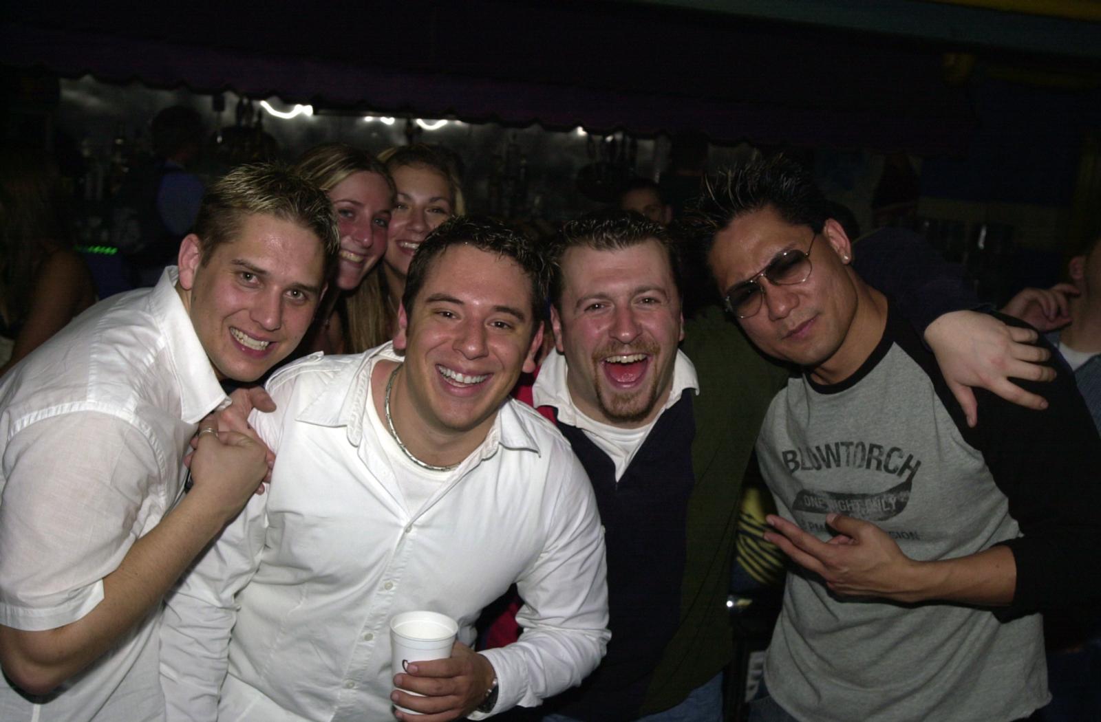Erik, Me, DJ Mike Z, DJ Speed and college girls :)